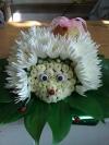 Ёжик из цветов