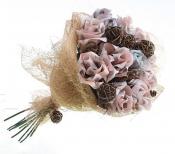 Букет роз из денежных купюр